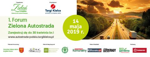 THE GREEN MOTORWAY FORUM - ALREADY THIS MAY IN TARGI KIELCE