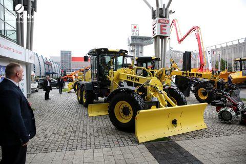 maszyny budowlane na targach budownictwa drogowego autostrada-polska