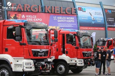 targi pożarnicze kielce ifre-expo - sprzęt strażacki