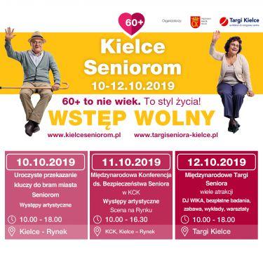 Największe święto Seniorów już tej jesieni również w Targach Kielcach!