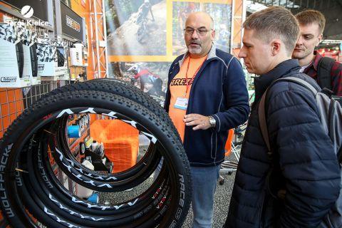 akcesoria rowerowe na targach KIELCE BIKE-EXPO