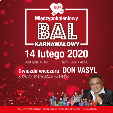 bal karnawałowy 2020 - plakat