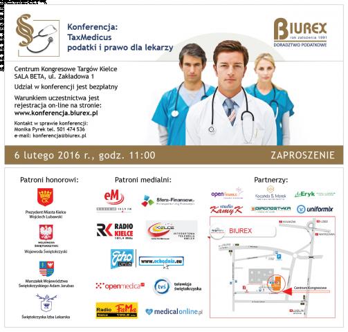 biurex - konferencja taxmedicus