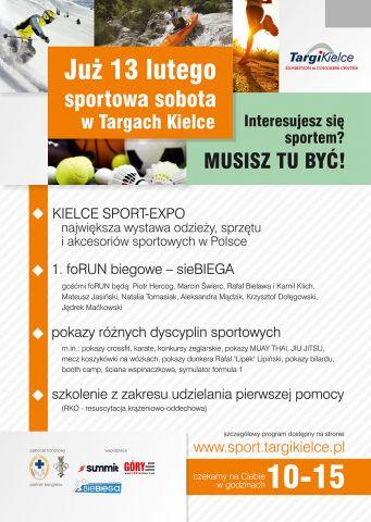 Strefa Sportu Kielce Sport Expo 2016 - plakat