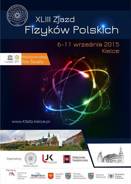 Zjazd Fizykow - plakat