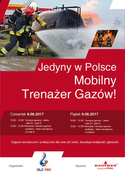 ifre 2017 - pokazy trenażera gazowego - plakat